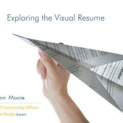 Exploring the Visual Resume